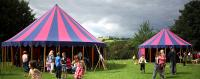 Red and Blue Little tops, Big Tops, Baby Big Top, Cabaret tent, Canvas Tent