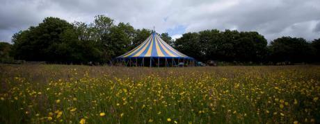 Blue & Yellow 22m Big Top, Circus Tent